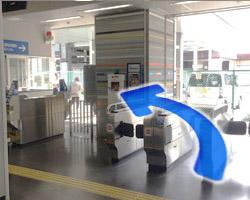 JR河内永和駅からの道順2