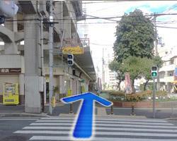 JR河内永和駅からの道順6