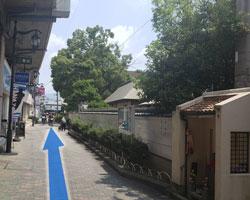鴻池新田駅からの道順5