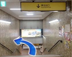 近鉄布施駅からの道順2