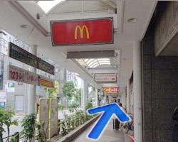 近鉄布施駅からの道順4