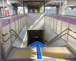 JR河内永和駅からの道順1