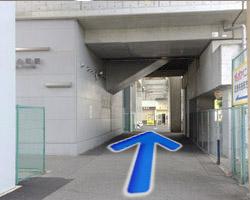 JR河内永和駅からの道順4