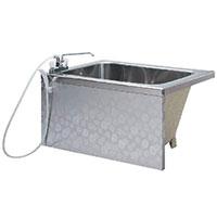 オカキン製ステンレス浴槽1100mm、OK-SF110-G、1200mm、OK-SF120-G