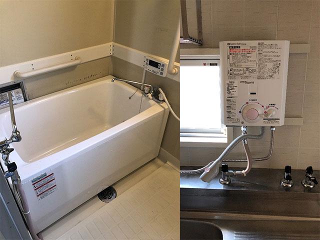 茨木市で団地風呂浴槽セット設置