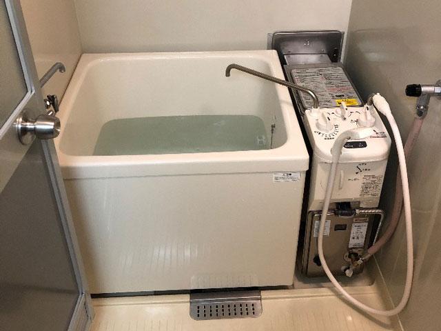 池田市で団地風呂浴槽セット設置