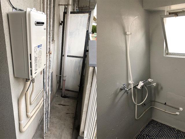 姫路市で団地用シャワーセット設置