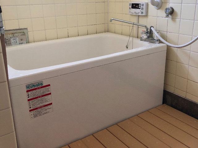 阪南市で団地風呂浴槽セット取替え