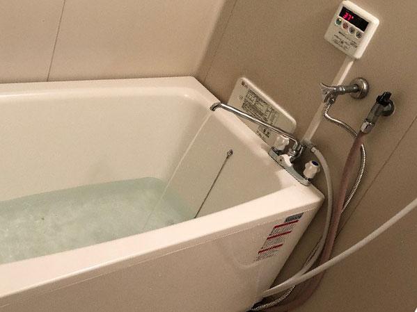 橿原市で団地風呂浴槽セット設置