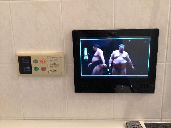 東灘区で浴室テレビ取替え