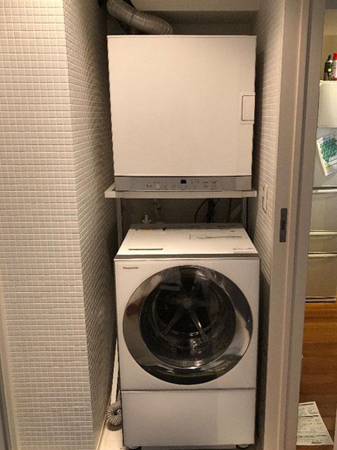 住之江区で衣類乾燥機取替え