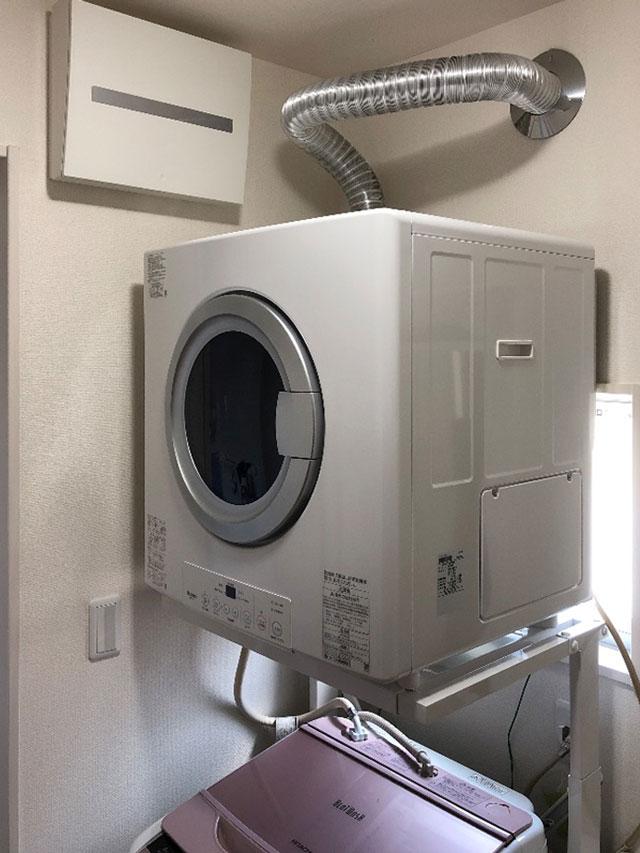 富田林市で衣類乾燥機設置