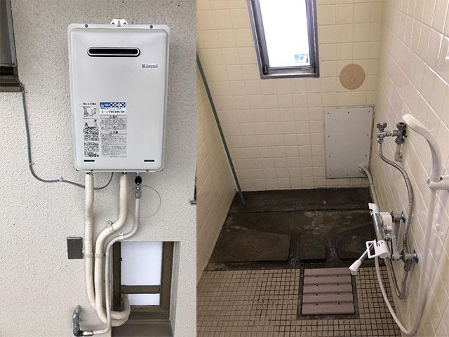 住吉区で団地シャワーセット設置