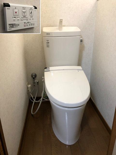 東大阪市でトイレ交換