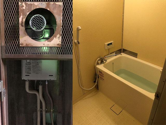 和泉市で団地風呂浴槽セット設置