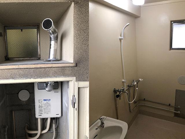 住之江区で団地シャワーセット設置