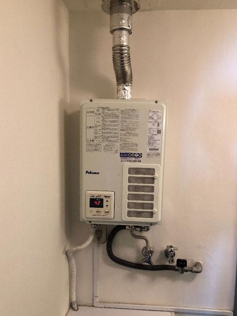 芦屋市で屋内式給湯器交換
