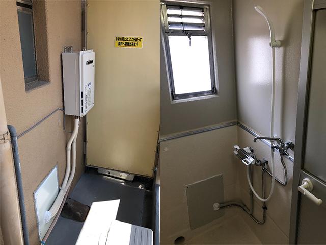 豊中市で団地シャワーセット設置