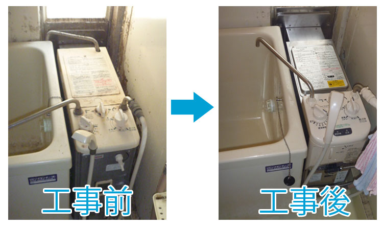 ガス機器の販売・ガス工事・水廻りリフォーム